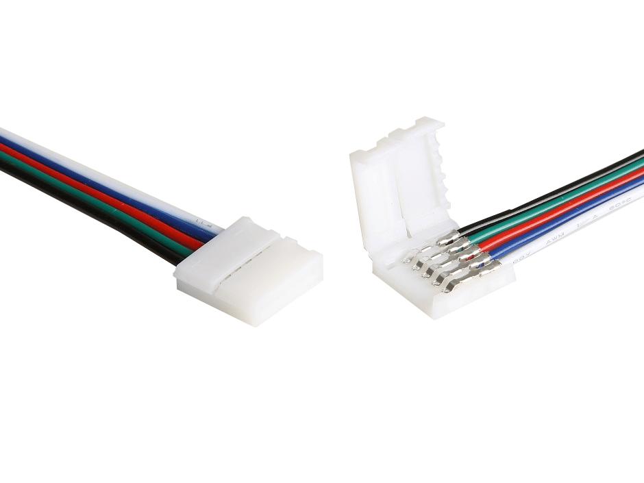 LED Zubehör, LED Stripe 15cm-Anschlusskabel, 5-polig, 12mm