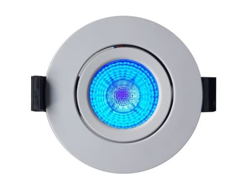 LED-SwingSpot 24V, 5W, 2700K,CRI90, blaue LED