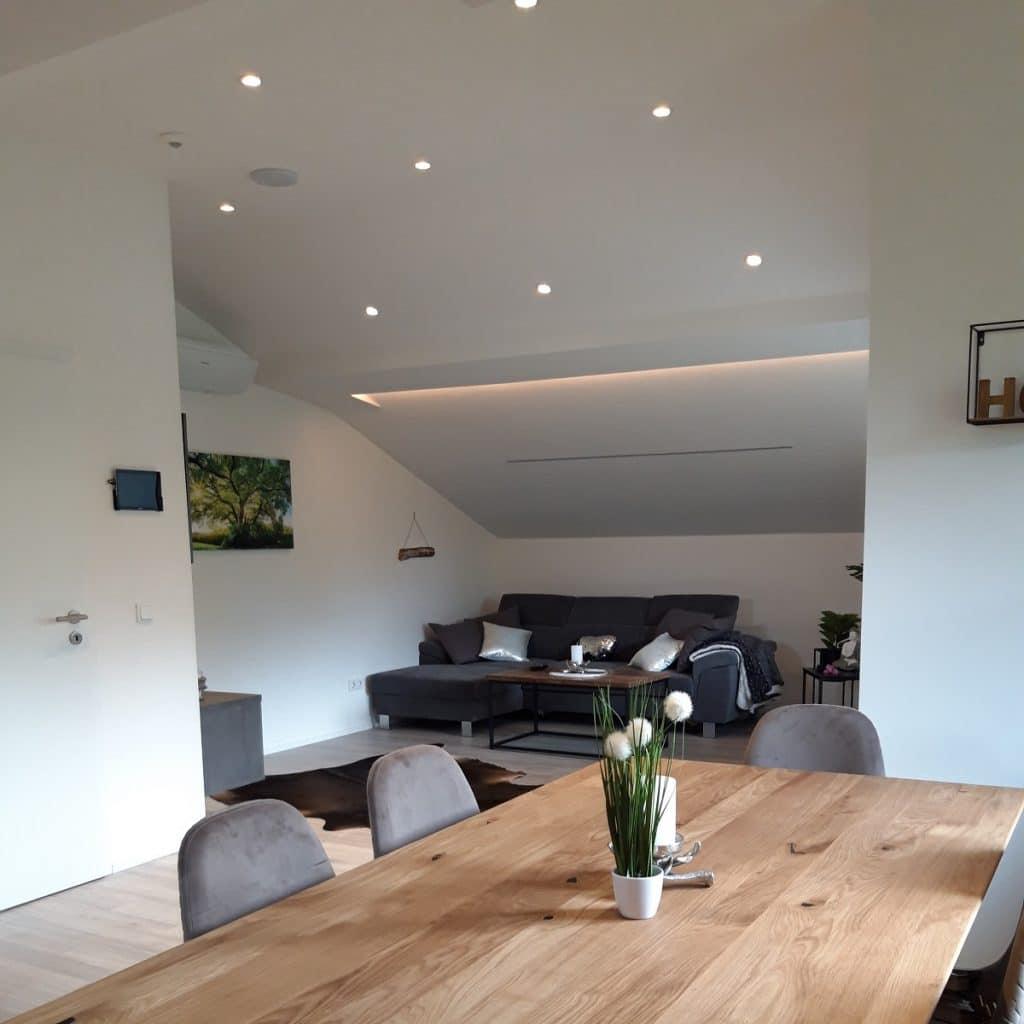 LED-Spots: Grundbeleuchtung Wohnzimmer