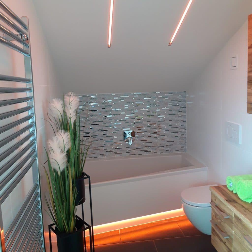 LED-Stripes Farblicht für die Wellnessoase