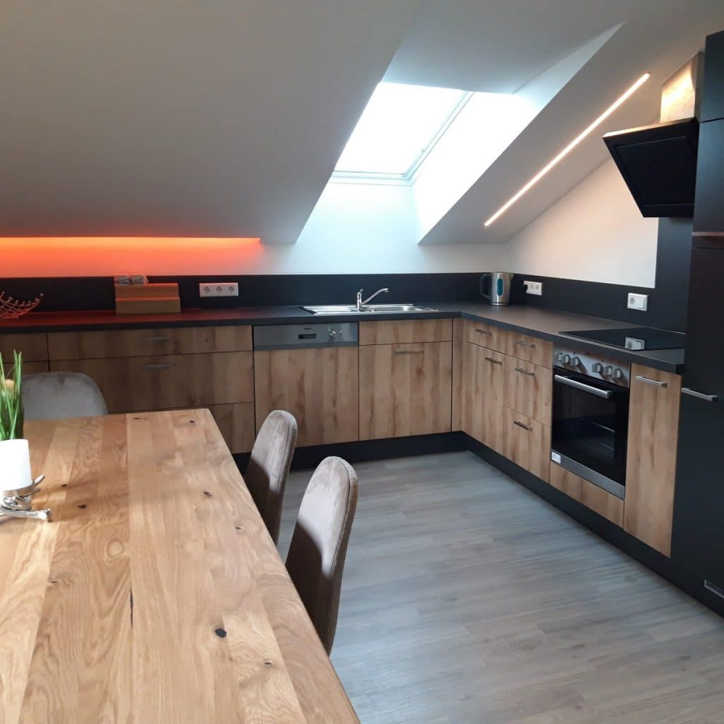 PWM-Dimmer & LED-Stripes Küchenbeleuchtung